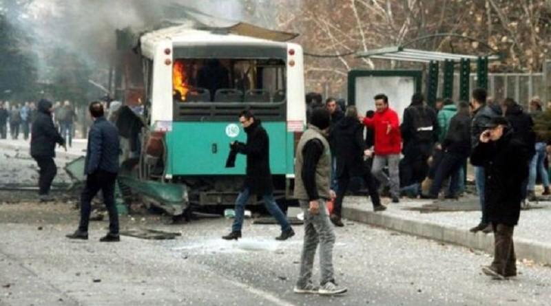 انفجار بوسط تركيا يودي بحياة 13 جنديا وإصابة العشرات