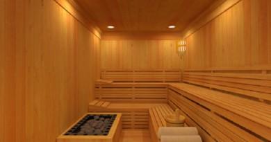 سر جديد في حمام الساونا
