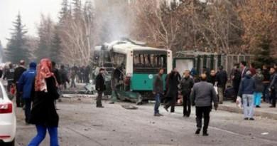 أردوغان يتهم متشددين أكرادا بهجوم أودى بحياة 13 في تركيا