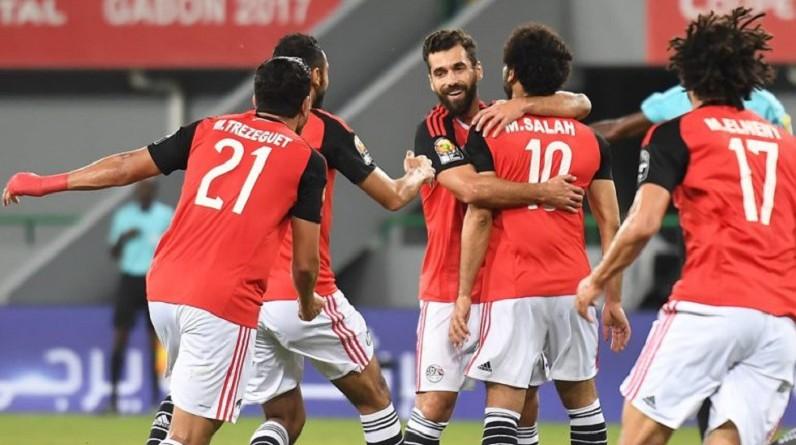هدف مباراة مصر والمغرب كأس الأمم الأفريقية