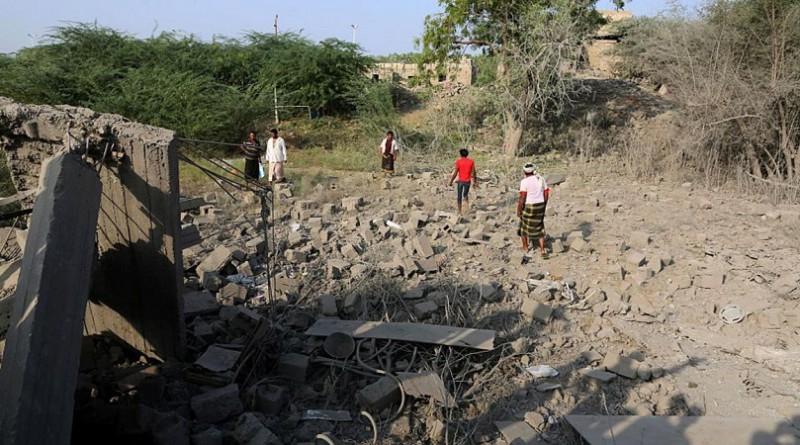 التحالف يشن غارات على مواقع عسكرية للحوثي بالحديدة