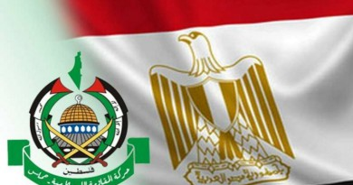 وفد حماس يلتقى بمسئولين مصريين
