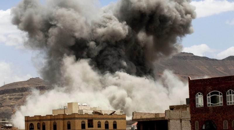 التحالف يشن 20 غارة على 3 محافظات يمنية