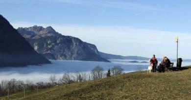 سويسرا تشهد اكثر اشهر ديسمبر جفافا منذ 150 سنة