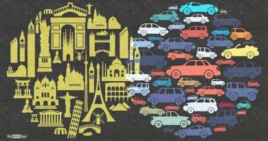 إنفوجرافيك.. تعرف على المدن الأكثر ازدحاما مروريا