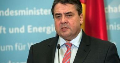 وزير خارجية ألمانيا زيجمار جابرييل