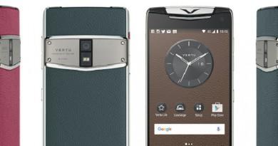 """شركة """"فيرتو"""" البريطانية تقدم هاتفها الفاخر الجديد"""