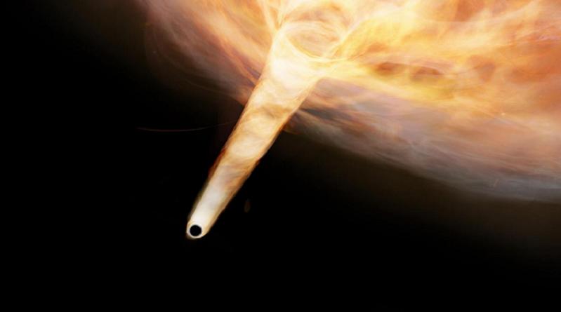 اكتشاف ثقب أسود مختبئ في مجرتنا