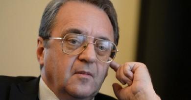 """""""بوجدانوف"""" يبحث مع مبعوث أممي تصاعد النزاع في اليمن"""