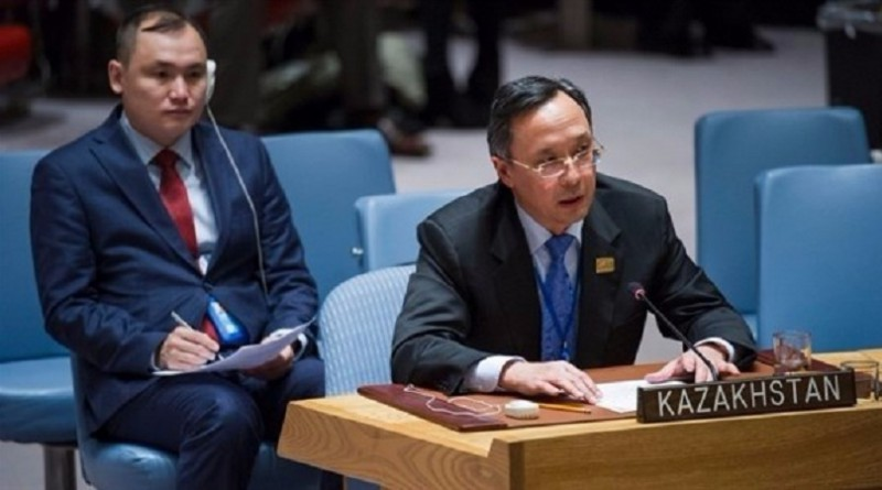 وزير خارجية كازاخستان خيرت عبد الرحمنوف