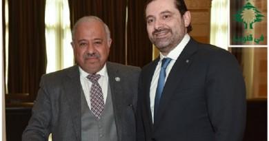"""الحريري يلتقي بالناقور لوضع اللمسات الأخيرة لإحتفالية """"السعودية في قلوبنا"""""""