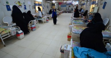 مصرع أكثر من 100 شخص جراء وباء الكوليرا في اليمن