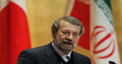 لاريجاني: نرحب بكافة الإجراءات التي تؤدي إلى تطبيع العلاقات مع مصر