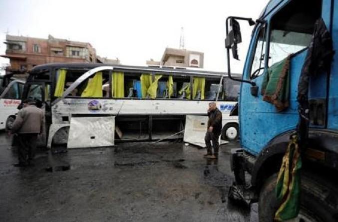 عشرات القتلى والجرحى إثر تفجيرين استهدفا شيعة في دمشق