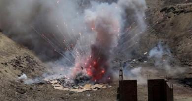 مصرع 7 جراء انفجار خلال إعداد ألعاب نارية في إيران