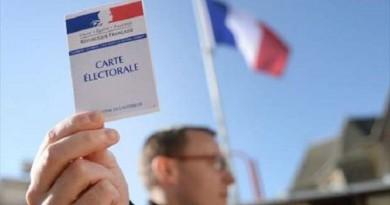 بالصور: بدء الجولة الأولى من الانتخابات الرئاسية الفرنسية