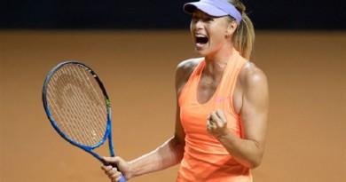 ماريا شارابوفا تتأهل لنصف نهائي بطولة شتوتجارت