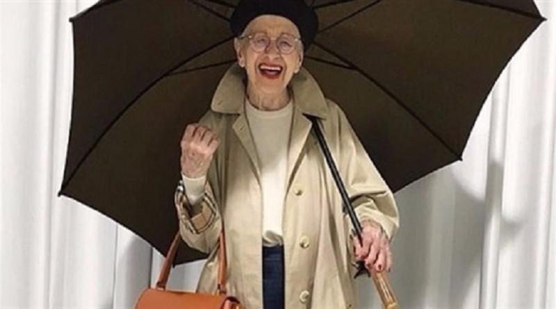 تسعينية نمساوية تتحول إلى أشهر عارضة أزياء على الإنترنت