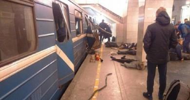 الكشف عن هوية منفذ تفجير مترو سان بطرسبورج