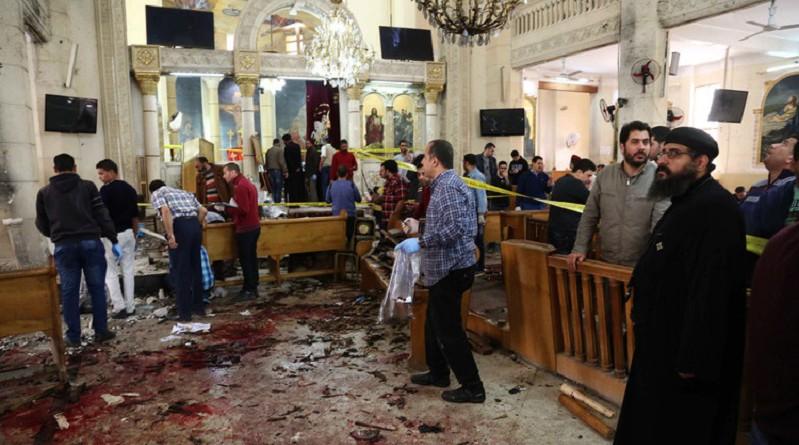 داعش يتبنى تفجيري الكنيستين في طنطا والإسكندرية
