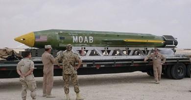 """""""أم القنابل"""" تقتل 36 من """"داعش"""" في أفغانستان"""