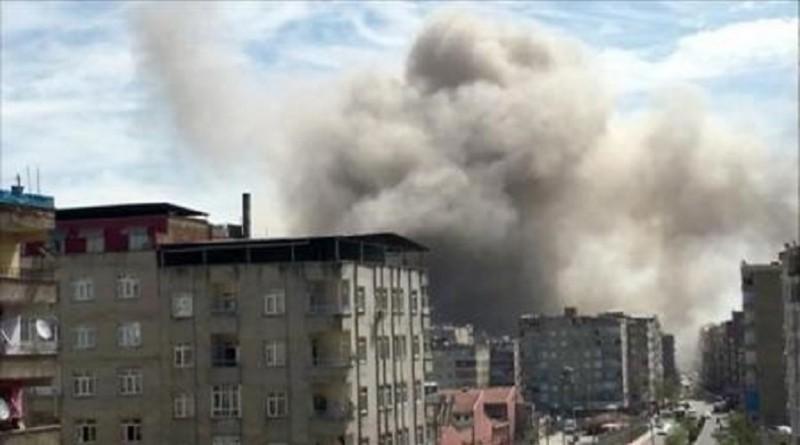 وزير: انفجار ديار بكر ناجم عن حادث على ما يبدو
