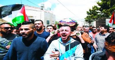 إضراب شامل في فلسطين تضامناً مع الأسرى