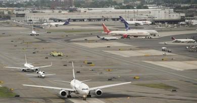 اغلاق مطار نيوارك في نيوجيرسي