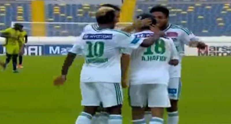 اهداف مباراة الرجاء الرياضي والدفاع الحسني الجديدي