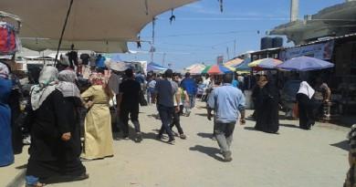 حماس: تنظيم السوق الشعبي يعكس حضارة النصيرات