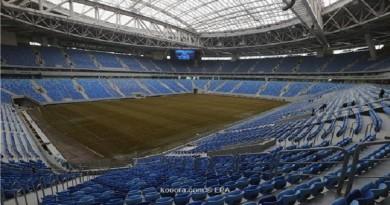 سان بطرسبرج تستبدال أرضية الملعب قبل كأس القارات