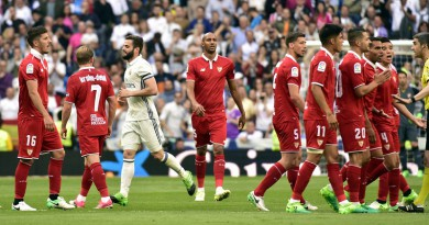 ريال مدريد وإشبيلية