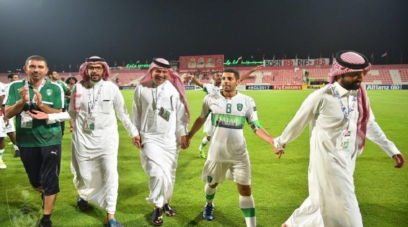 اهداف مباراة الأهلي الإماراتي والأهلي السعودي