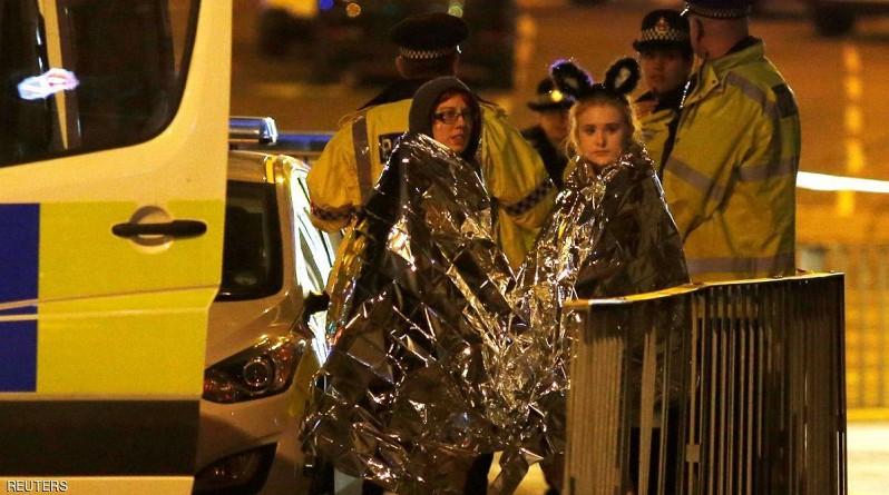 """بالصور ... قتلى وعشرات الجرحى في """"انفجار"""" مانشستر"""