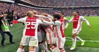 اهداف مباراة ليون واياكس امستردام