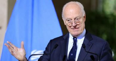 دي ميستورا: اتفقنا على النقاط الأربع مع دمشق والأسد يؤمن بالعملية السياسية