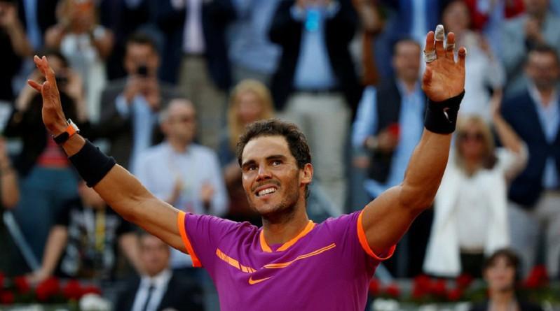 نادال يتقدم للمركز الرابع في تصنيف لاعبي التنس المحترفين