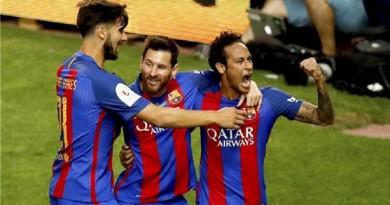 بالفيديو ... برشلونة ينهي مغامرة ألافيس ويتوج بكأس ملك إسبانيا
