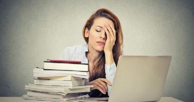 10 نصائح للتخلص من الإجهاد وضغط العمل