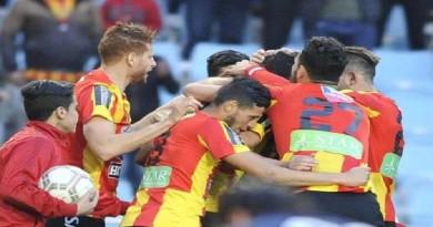 الترجي التونسي بعشرة لاعبين يتعادل سلبيا مع سان جورج