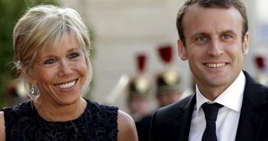 بريجيب ماكرون سيدة فرنسا الأولى جدة لسبعة أولاد وزوجها في نهاية الثلاثين