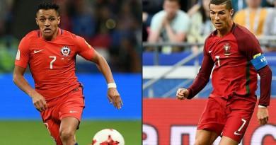 مشاهدة مباراة البرتغال وتشيلي