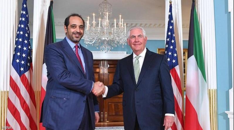 بحث الأزمة الخليجية فى لقاء كويتى امريكى
