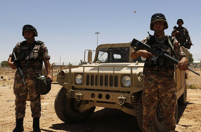 قوات حرس الحدود الأردنية تتصدى لمحاولة تسلل عبر معبر التنف