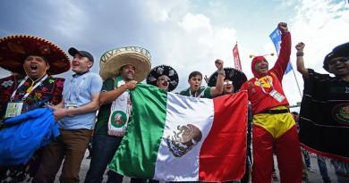 المانيا والمكسيك طرفا المباراة الثانية في الدور قبل النهائي لكأس القارات