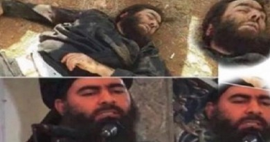 انباء عن مقتل البغدادي وآخرون ينشرون صور جثته