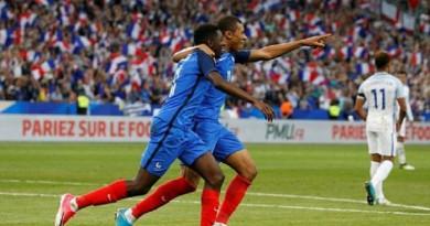 اهداف مباراة فرنسا وإنجلترا
