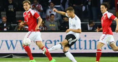 ألمانيا تتعادل مع الدنمارك استعداد لكأس القارات