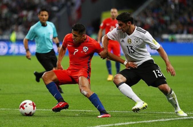 بالفيديو الصور: ألمانيا تتعادل مع تشيلي في كأس القارات