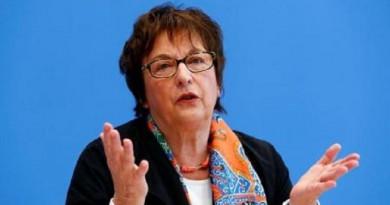 وزيرة الاقتصاد الألمانية بريجيته تسيبريز